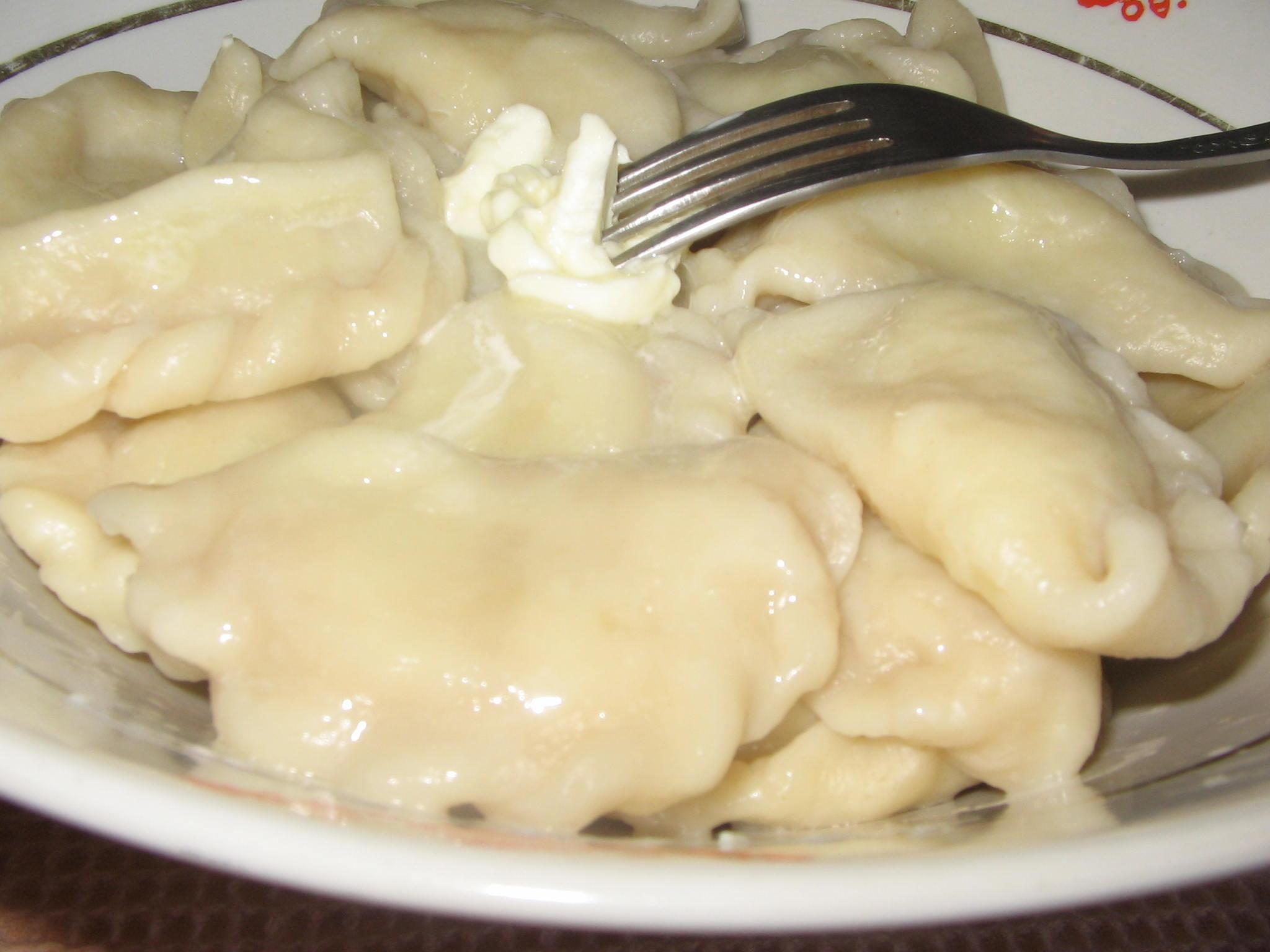 Вареники с варёной картошкой рецепт