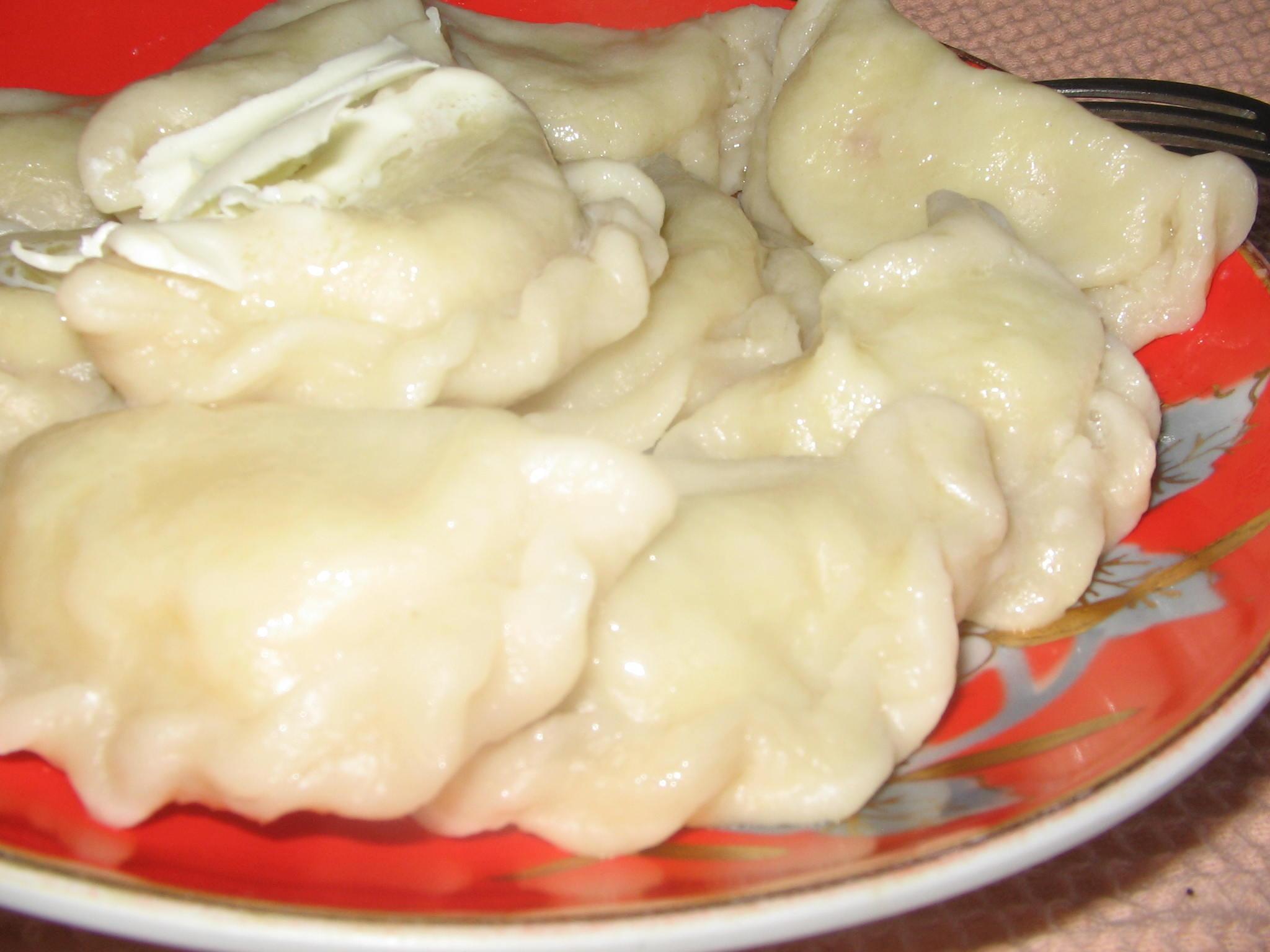 Как делать вареники с картошкой