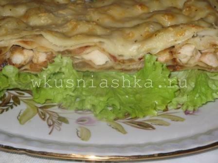 """Оригинальный картофельный торт """"А-ля лазанья"""" – кулинарный рецепт"""