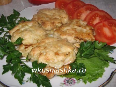 котлеты из рубленного мяса курицы в духовке