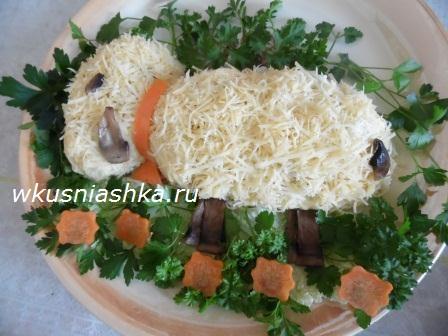 рецепт салата 3 желания