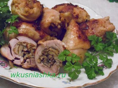 Вкусно приготовить куриные голени