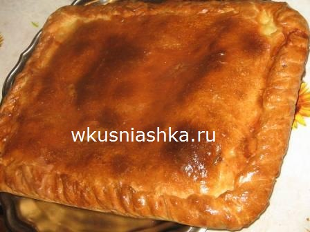 Пирог со щукой рецепт