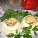 гнезда из картофельного пюре
