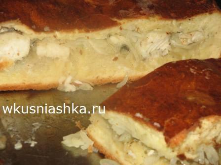 пирог из щуки рецепт с фото